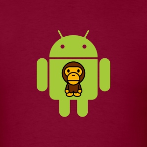 Monkey Bot - Men's T-Shirt