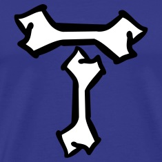 Royal blue T-bone T-Shirts