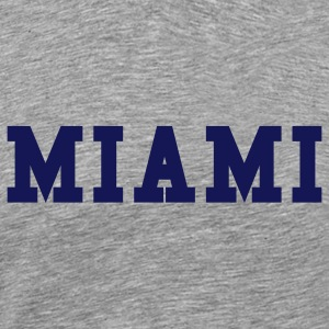 Ash  miami by wam T-Shirts - Men's Premium T-Shirt