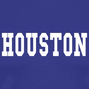 Royal blue houston by wam T-Shirts - Men's Premium T-Shirt