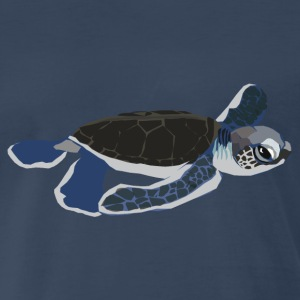 Baby Sea Turtle - Men's Premium T-Shirt
