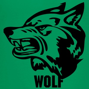 Kelly green wolf wolves or wolverine? Kids' Shirts - Kids' Premium T-Shirt