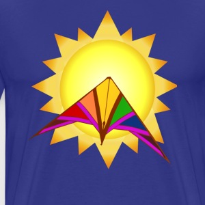 Summertime Kite - Men's Premium T-Shirt