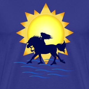 Summertime Horse - Men's Premium T-Shirt