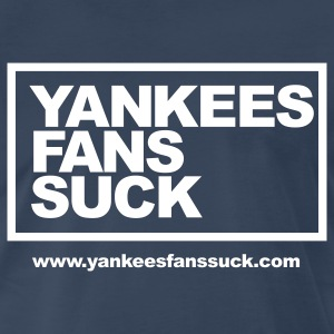 Official Yankees Fans Suck Mens 3XL Shirt - Men's Premium T-Shirt