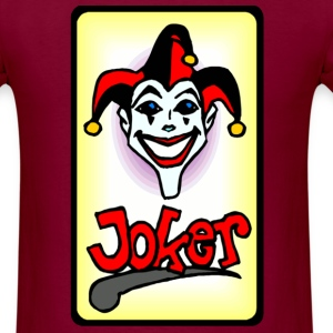 Joker card - Men's T-Shirt
