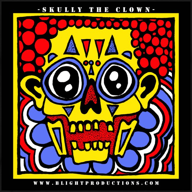 3XL - Skully the Clown T Shirt