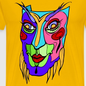 The Mask Mardis gras - Men's Premium T-Shirt
