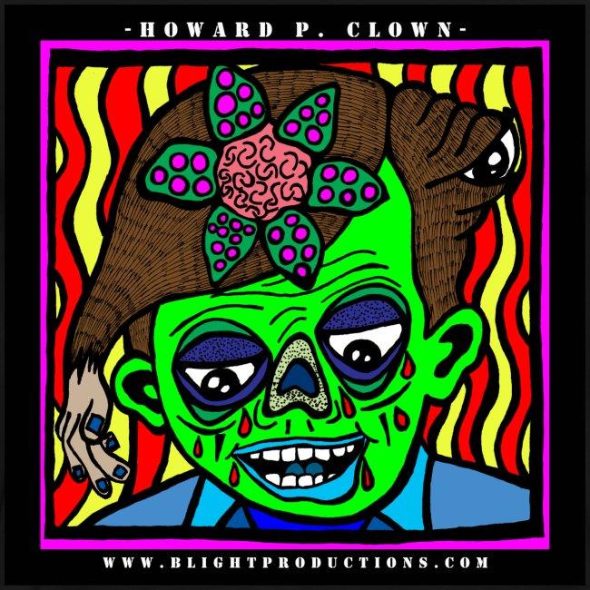 3XL -  Howard P Clown T Shirt