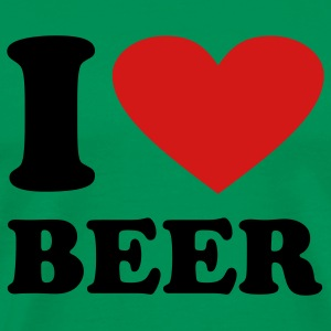 Sage I love Beer T-Shirts - Men's Premium T-Shirt