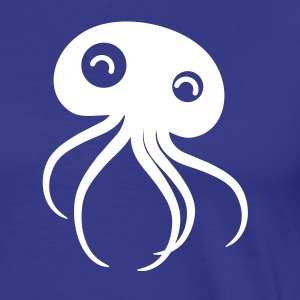 Royal blue Octopussy T-Shirts - Men's Premium T-Shirt