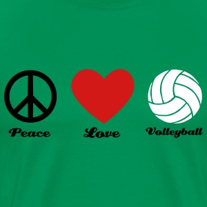Volleyball Men's Heavyweight Tee - Men's Premium T-Shirt