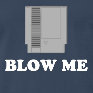 Navy Blow me T-Shirts - Men's Premium T-Shirt