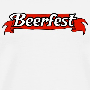 White Beer Fest T-Shirts - Men's Premium T-Shirt