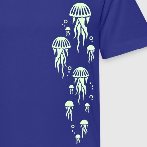 Royal blue jellyfish Kids' Shirts - Kids' Premium T-Shirt