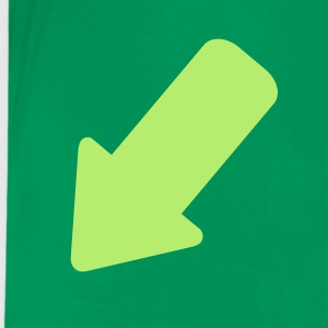 Kelly green Arrow Kids' Shirts - Kids' Premium T-Shirt