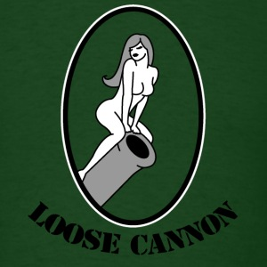 Forest green loose canon T-Shirts - Men's T-Shirt