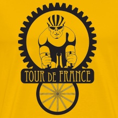 Gold Tour de France T-Shirts