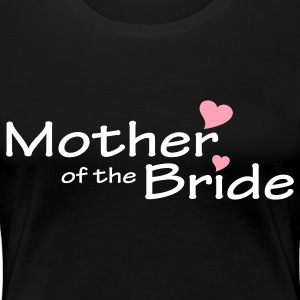 Black Mother of the Bride (wedding) Plus Size - Women's Premium T-Shirt