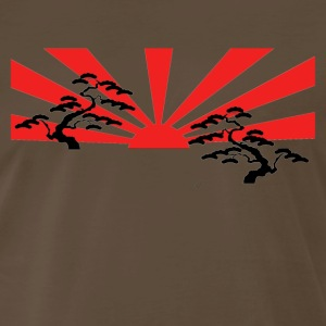 Rising sun [red/black edition] - Men's Premium T-Shirt