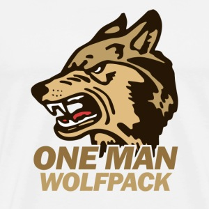 Natural the Hangover Wolfpack T-Shirts - Men's Premium T-Shirt