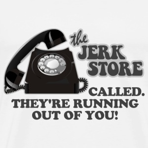 Natural Seinfeld Jerk Store T-Shirts - Men's Premium T-Shirt
