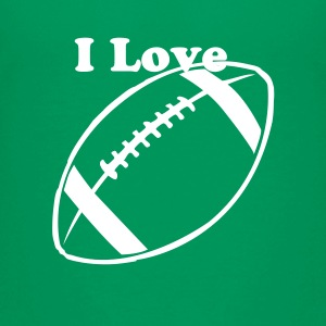 Kelly green Football Teams Kids' Shirts - Kids' Premium T-Shirt