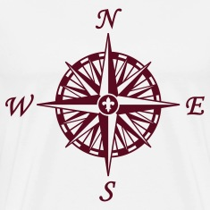Natural Compass Rose T-Shirts