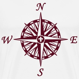 Natural Compass Rose T-Shirts - Men's Premium T-Shirt