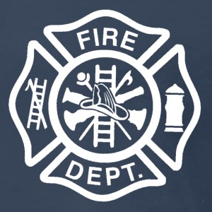 Fire/EMS Shirt (White Imprint) - Men's Premium T-Shirt