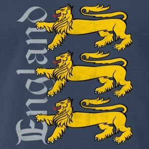3 Lions - England Supporter - Men's Premium T-Shirt