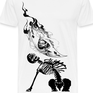 SKELETON AND ACE - Men's Premium T-Shirt
