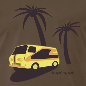 Van Man Tee - Men's Premium T-Shirt