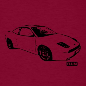 Burgundy fiat_coupe_20vt_copy T-Shirts - Men's T-Shirt