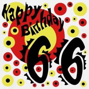 66 Years Happy Birthday - Men's Premium T-Shirt