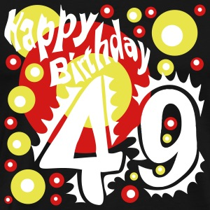 Happy Birthday 49 Years - Men's Premium T-Shirt