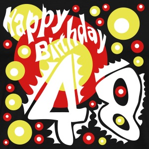 Happy Birthday 48 Years - Men's Premium T-Shirt