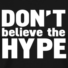 Black don't believe the hype T-Shirts