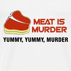 White Meat Tasty Murder T-Shirts