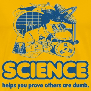 Science T-Shirt - Men's Premium T-Shirt