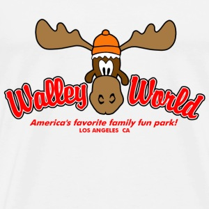 White Walley World Vacation T-Shirts - Men's Premium T-Shirt