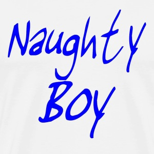 Naughty Boy T-Shirt - Men's Premium T-Shirt