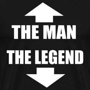 The Man The Legend - Men's Premium T-Shirt