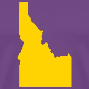 Purple Idaho T-Shirts - Men's Premium T-Shirt