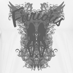 Furious Pinup 1 - Light - Men's Premium T-Shirt
