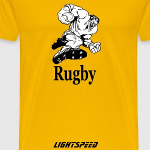 Rugby - Men's Premium T-Shirt