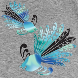 NZ Fantail - Men's Premium T-Shirt