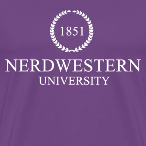 Nerdwestern University - Men's Premium T-Shirt