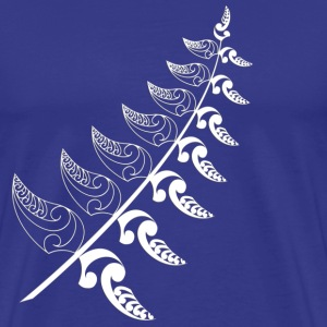 Royal blue Silver Fern  T-Shirts - Men's Premium T-Shirt