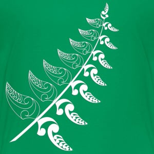 Kelly green Silver Fern  Kids' Shirts - Kids' Premium T-Shirt